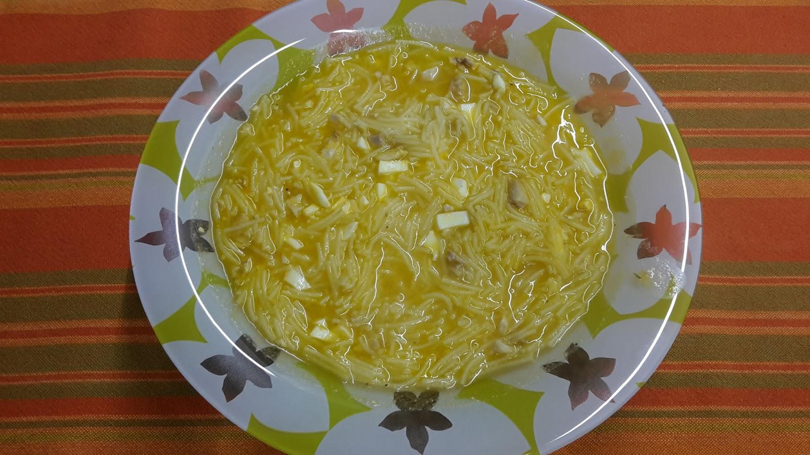 sopa de cardo