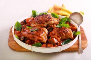 muslitos de pollo al horno con patatas