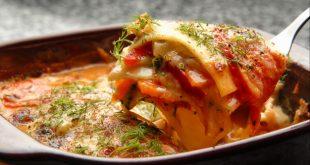 lasaña de verduras sin pasta