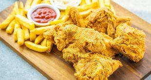 Receta alitas de pollo fritas crujientes